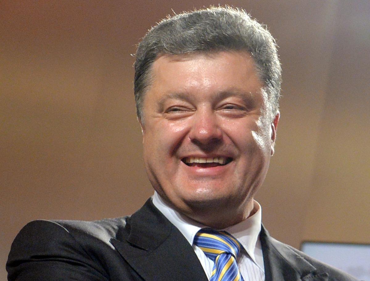 новый президент украины порошенко фото