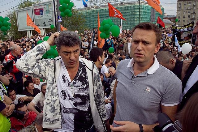 Картинки по запросу немцов и навальный фото